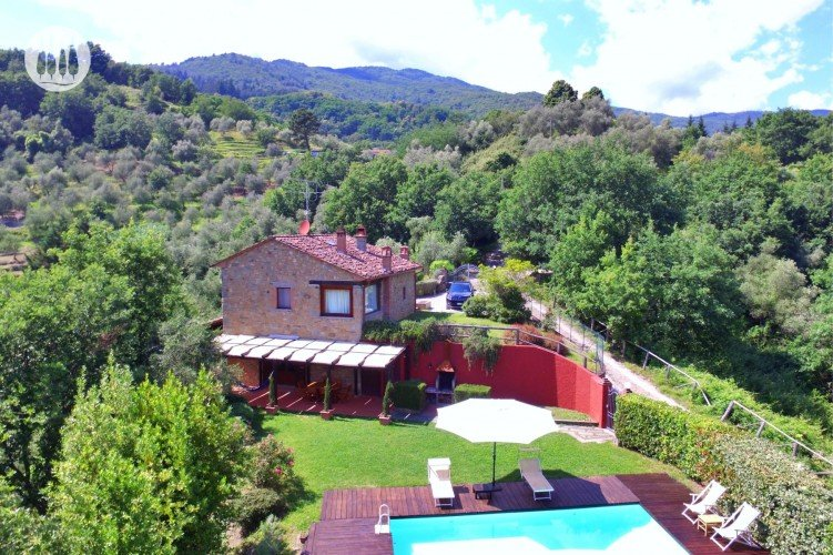 Casa Viepori, view with the drone