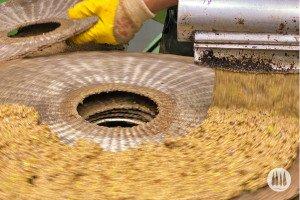 synthetic fiber discs